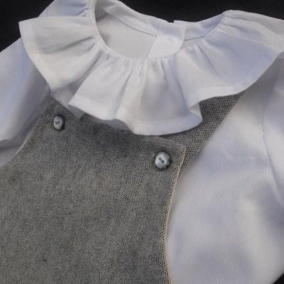 Barboteuse bébé Prélude et blouse Berceuse Mon Petit Vestiaire