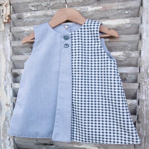 Robe réversible Royan Mon Petit Vestiaire, côté pile