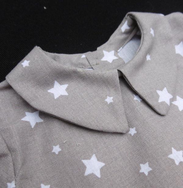 Chemise Etoile Mon Petit Vestiaire, vêtements popur bébés prématurés