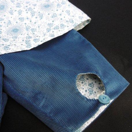 Pantalon Alibert bleu orage Mon Petit Vestiaire