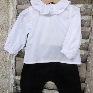 Culotte courte Morland et blouse Berceuse Mon Petit Vestiaire