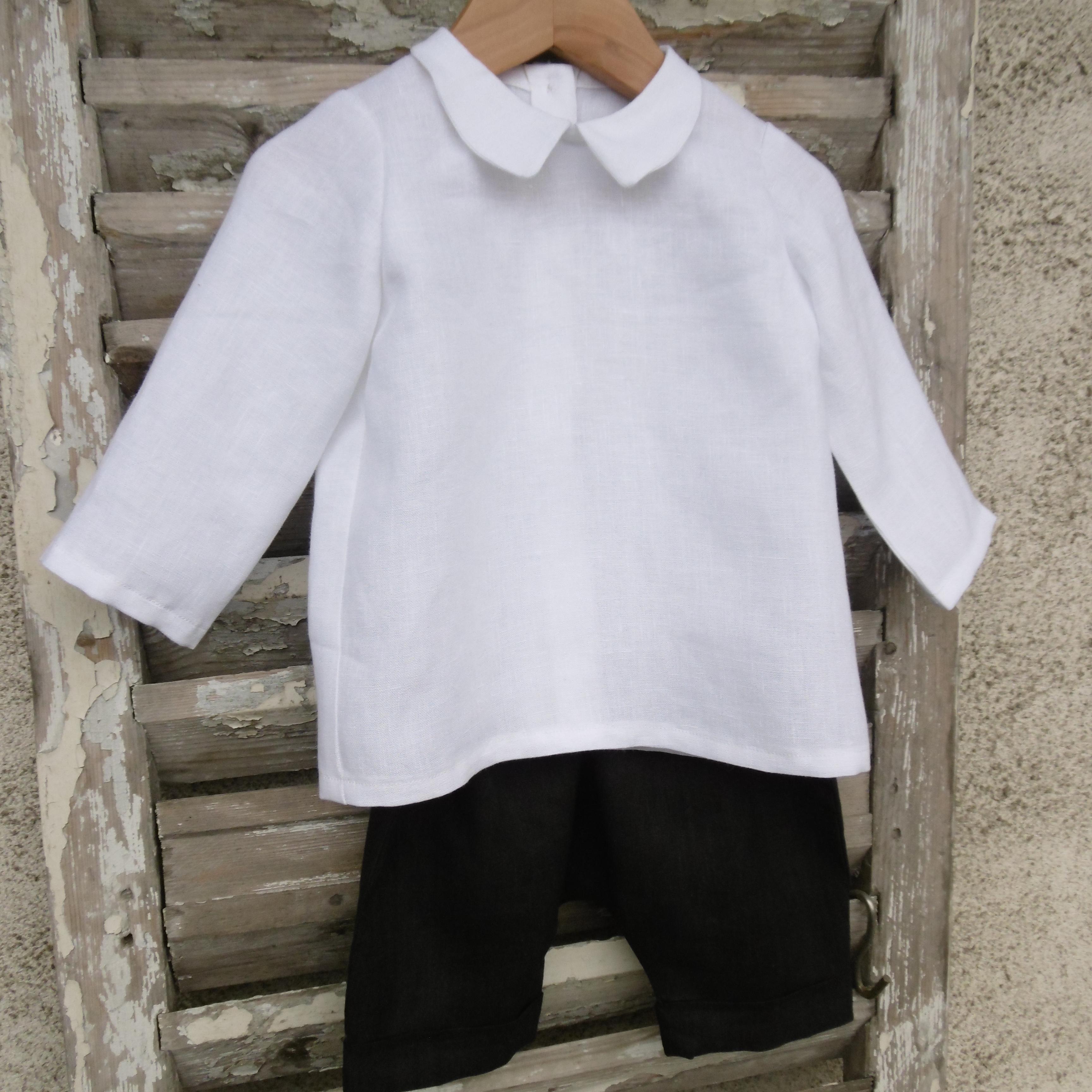 Chemise Sagesse et culotte courte IntrépideMon Petit Vestiaire
