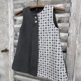 Robe réversible Giboulée Mon Petit Vestiaire