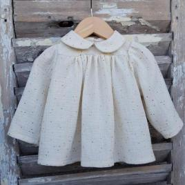 Blouse bébé fille : la blouse Etincelle Mon Petit Vestiaire