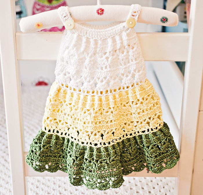 Crochet Tiered Dress!