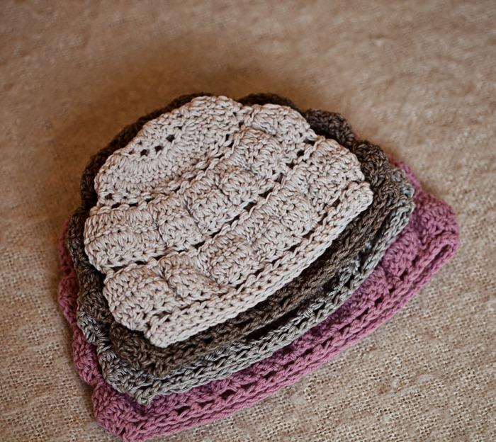 Crochet Tiered Hat
