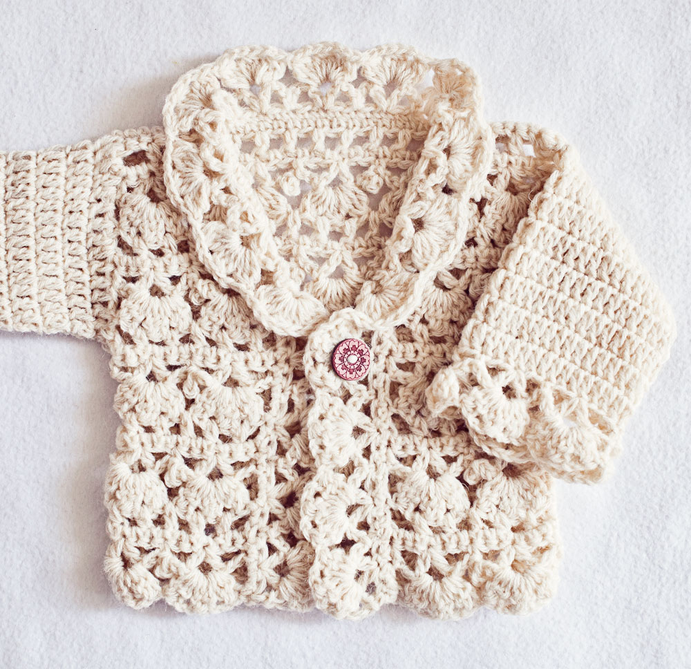 New crochet pattern you'll love – Harriet Lace Cardigan!