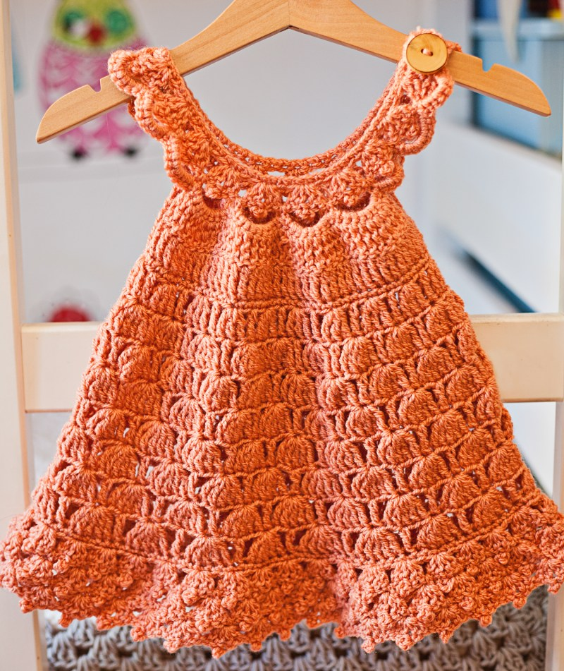 Bell Dress, croche pattern by Mon Petit Violon