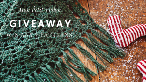 Giveaway - crochet patterns by Mon Petit Violon