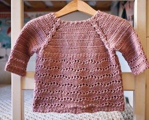Wisteria Cardigan, crochet pattern by Mon Petit Violon