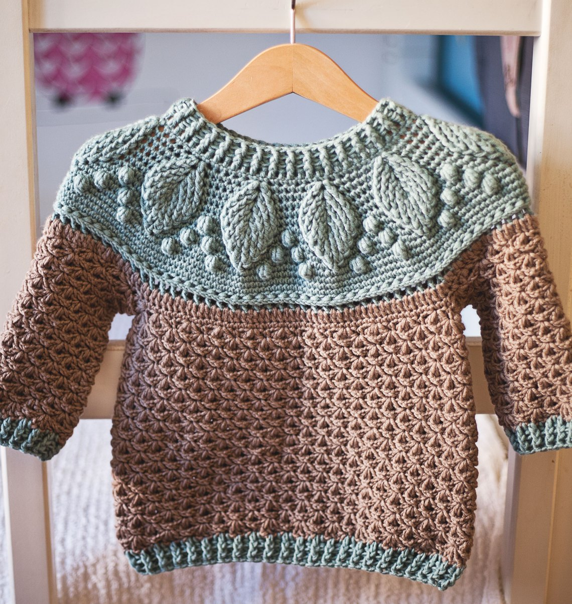 Harvest Sweater, crochet pattern by Mon Petit Violon