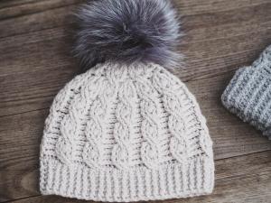 Favorite Cable Hat, crochet pattern by Mon Petit Violon