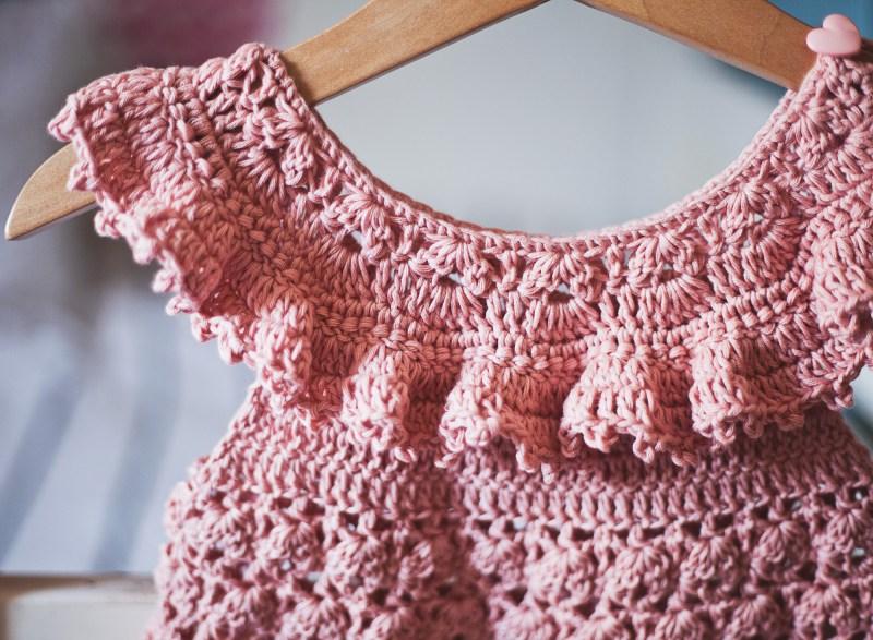 Sweet Pea Dress, crochet pattern by Mon Petit Violon