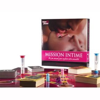 Jeu - Mission Intime