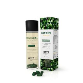 Aventurine Avocat - Exsens - Huile de massage Anti-Stress - Certifié Bio