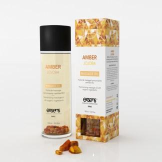 Amber Jojoba - Huile de massage Bio - Exsens