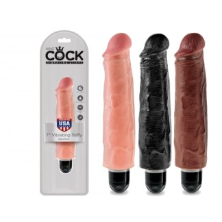 7 Vibrating Stiffy - King Cock