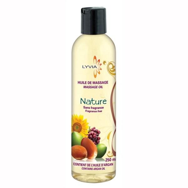 Lyvia - Huile de massage - Nature