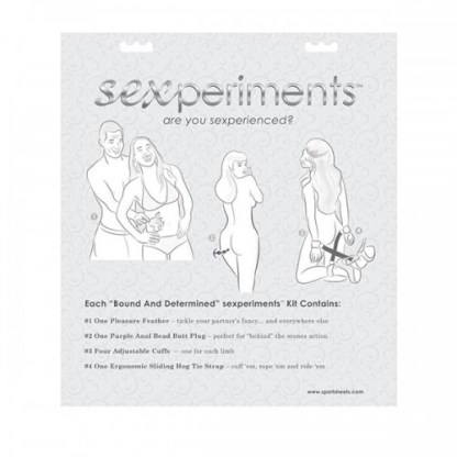 Bound and Determined Kit - Sexperiments - Sportsheets