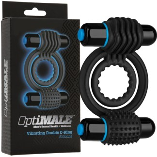 Vibrating Double C-Ring - OptiMALE - Doc Jonhson