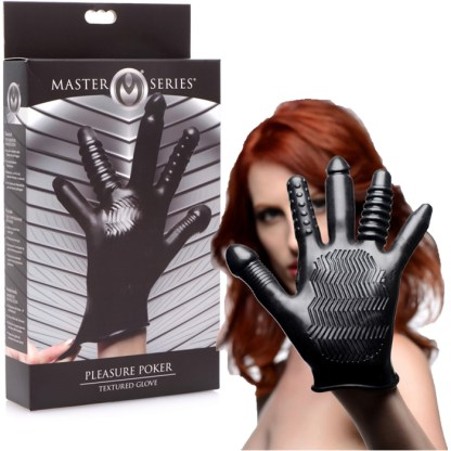 Pleasure Poker - Textured Glove - Master Series