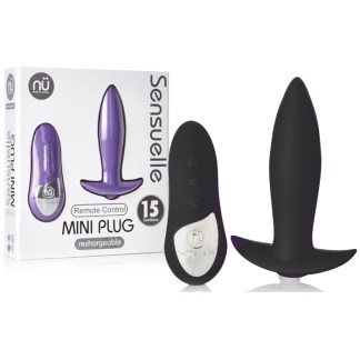 Mini Butt Plug Remote Control - Plug Anale Rechargeable à Distance - NÜ