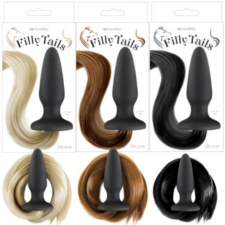 Filly Tails - Plug Anale avec Queue de Cheval - Ns