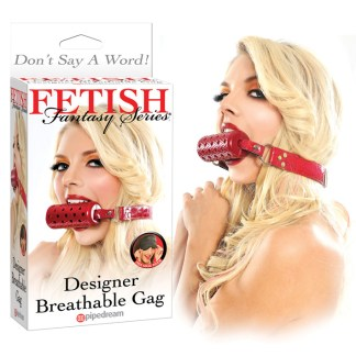 Designer Breathable Gag - Bâillon - Fetish Fantasy Series