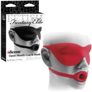 Open-Mouth Gag And Mask - Bâillon et Cache-Yeux - Fetish Fantasy Elite