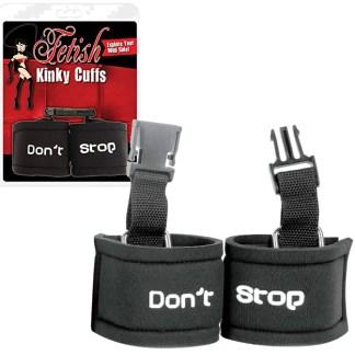 Kinky Cuffs - Dont Stop - Menottes