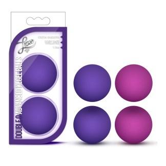 Double O Advanced Kegel Balls - Boules de Kegel - Blush