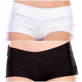 Spandex Boy Shorts - 281151 - Leg Avenue