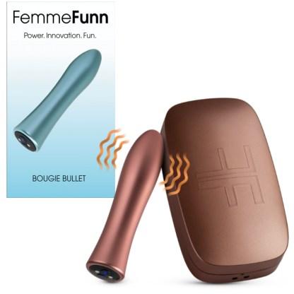 Bougie Bullet - Masseur Clitoridien Rechargeable - FemmeFunn