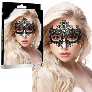 Queen - Black Lace Mask - Masque - Ouch! 2