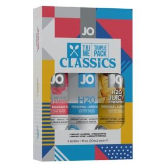 Classic - Tri-Me Triple Pack - Ensemble Cadeau - System Jo