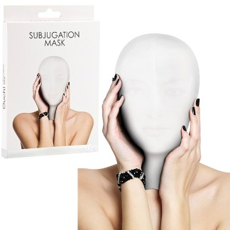 Subjugation Mask White - Cagoule - Ouch!