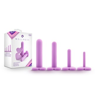 Wellness - Dilator Kit - Ensemble de Dilatateurs Vaginaux - Blush