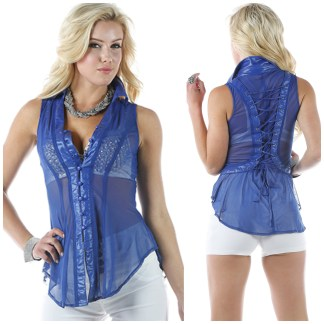Blouse - 6169 - OhYess