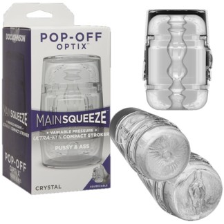 Pop-Off Optix - Main Squeeze - Masturbateur Compact - Doc Jonhson