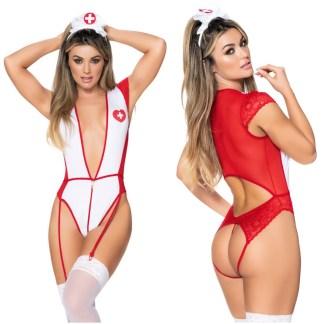 Infirmière Sexy - Teddy - 6429 - Mapalé