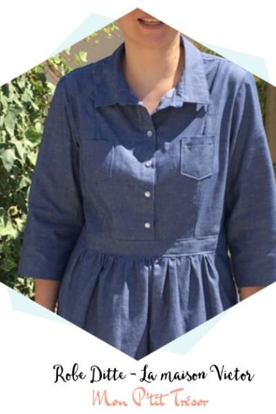 Une robe chemise pour cet été
