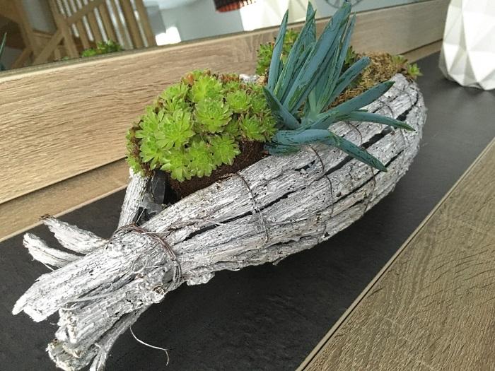 Mon bateau végétal ♥