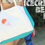 sac ice cream plage