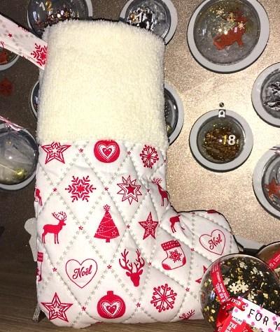Ma première «vraie» chaussette de Noël