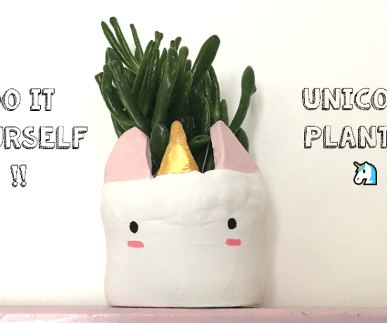 unicorn planter