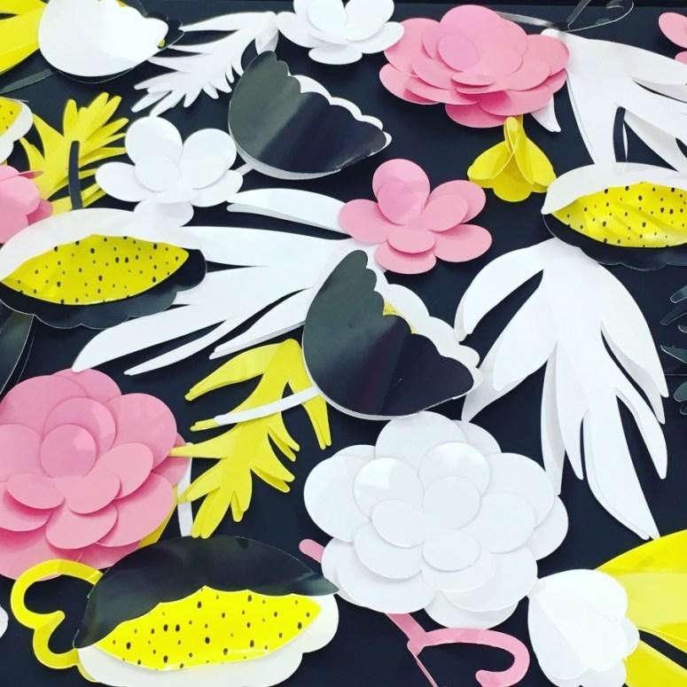 sephora fleurs en papier