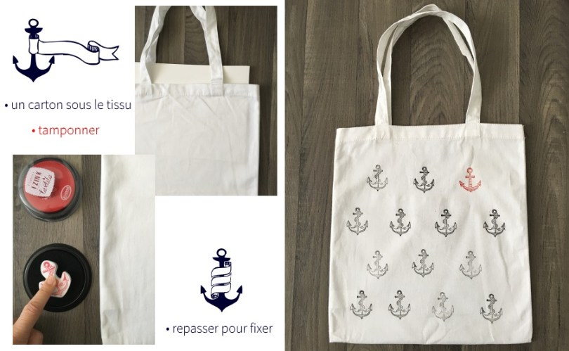 custo marine tote bag
