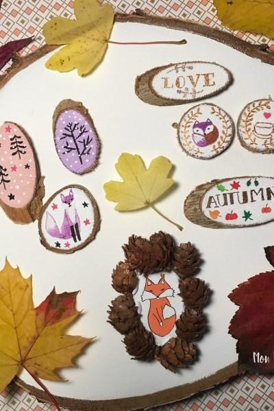 Peintures sur bois ♥ déco d'automne
