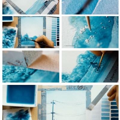 Astuce peinture pour ne pas déborder du cadre !