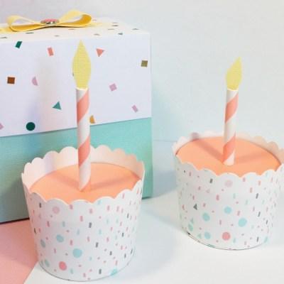 Boîte Pop-Up surprise d'anniversaire + tuto